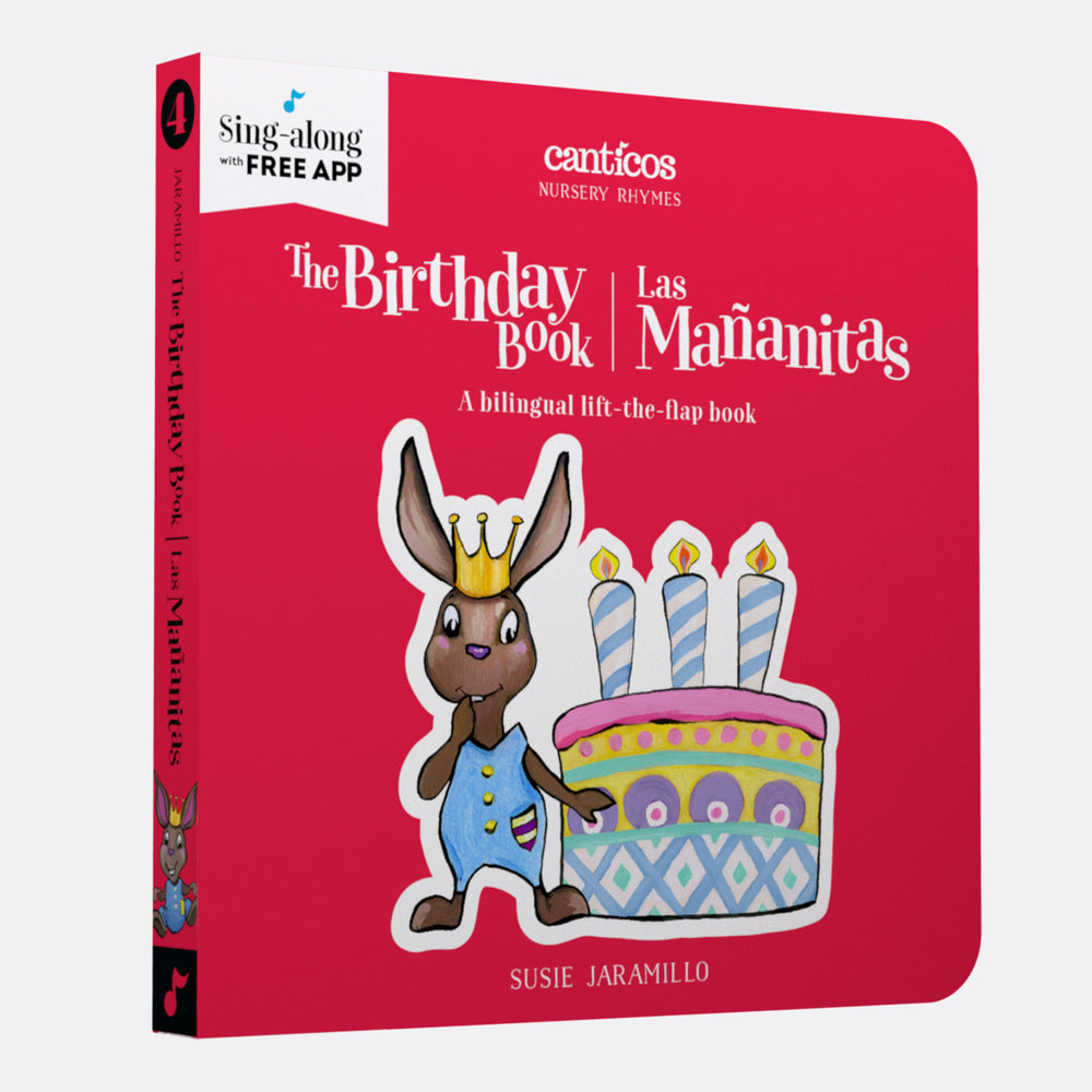 Canticos The Birthday Book / Las Mañanitas: Board book in Spanish & English