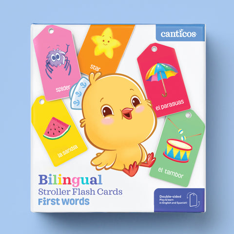 Bilingual Stroller Cards - First Words