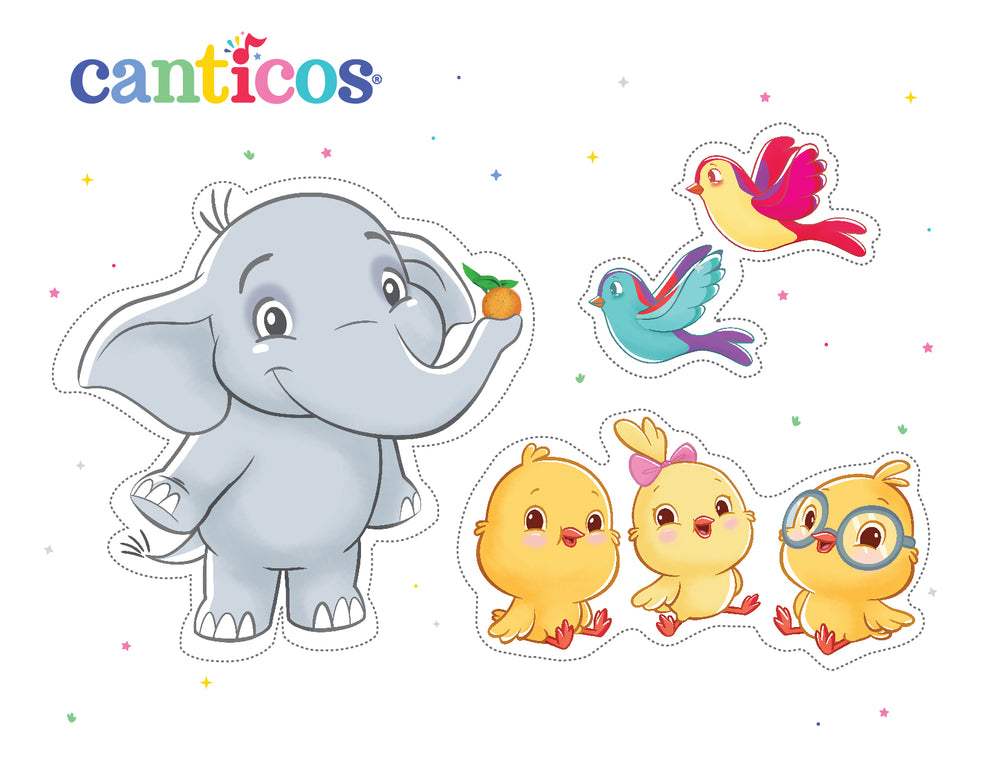 Canticos Printable Playset