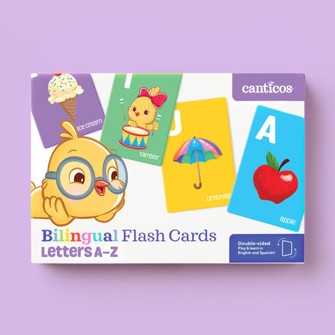 Bilingual Flashcards Letters A to Z