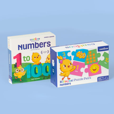 Bilingual Firsts Collection: Numbers Bundle