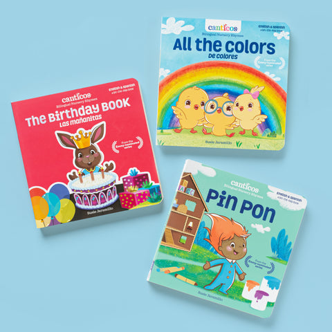 Bilingual Nursery Rhymes Collection Bundle - Little Books