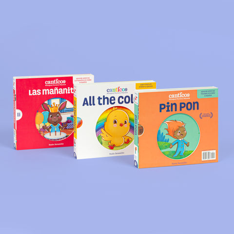 Bilingual Nursery Rhymes Collection Bundle - Reversible Books