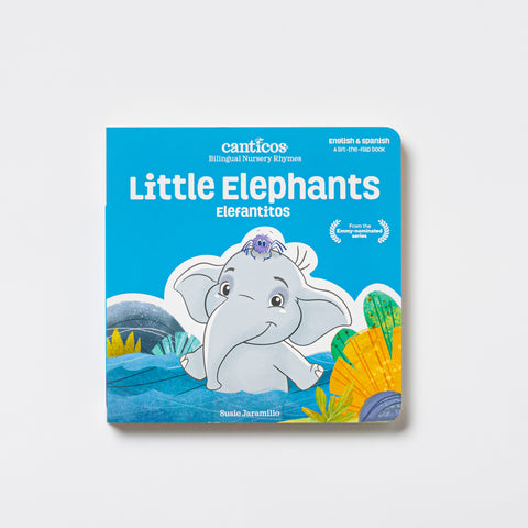 Bilingual Nursery Rhymes: Little Elephants