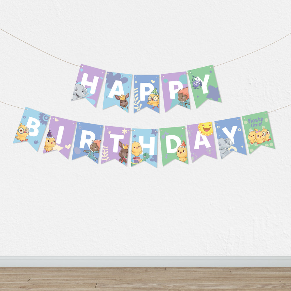 Canticos Printable Birthday Kit