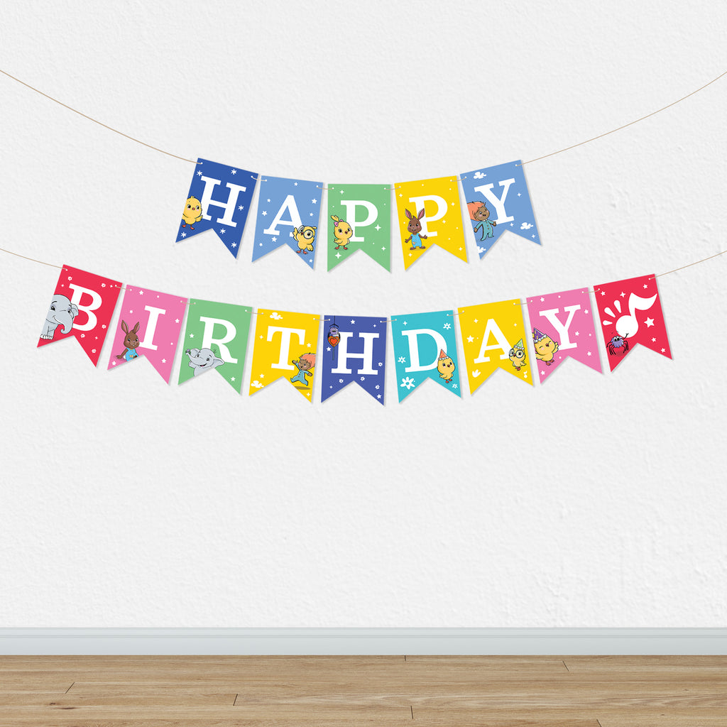 Printable Happy Birthday / Feliz Cumpleaños Party Garland