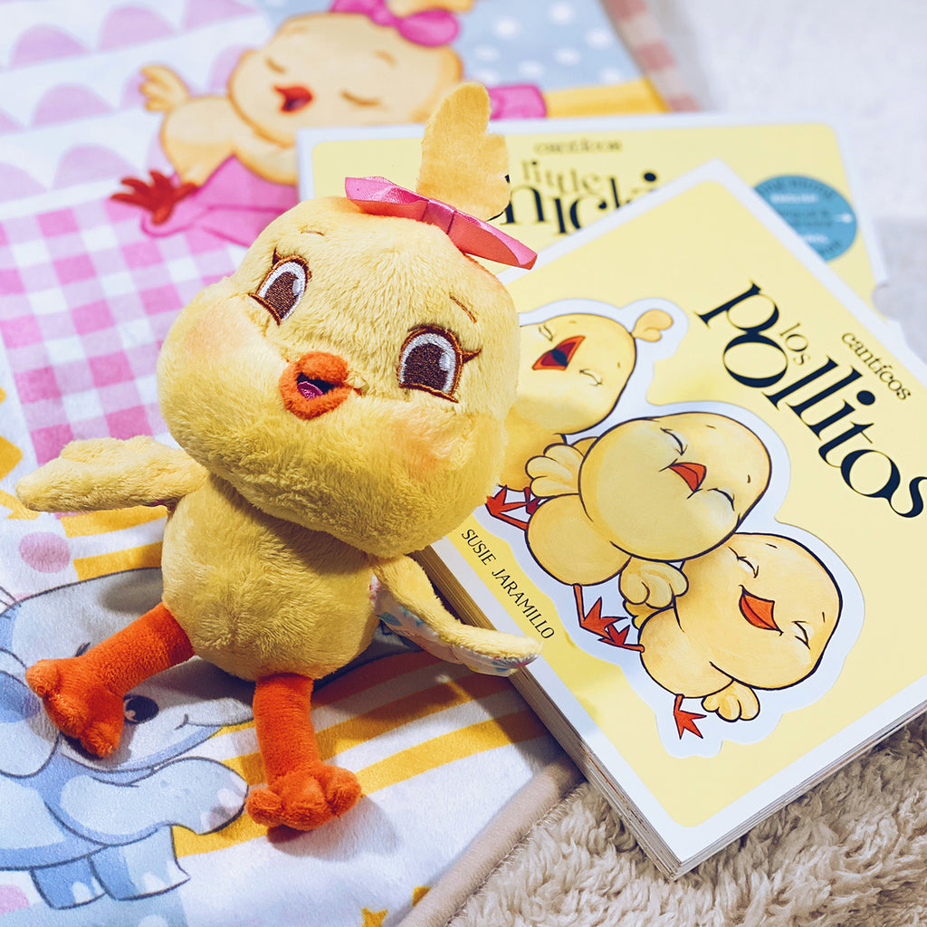 Kiki Chickie bundle set: Plush + Reversible Book