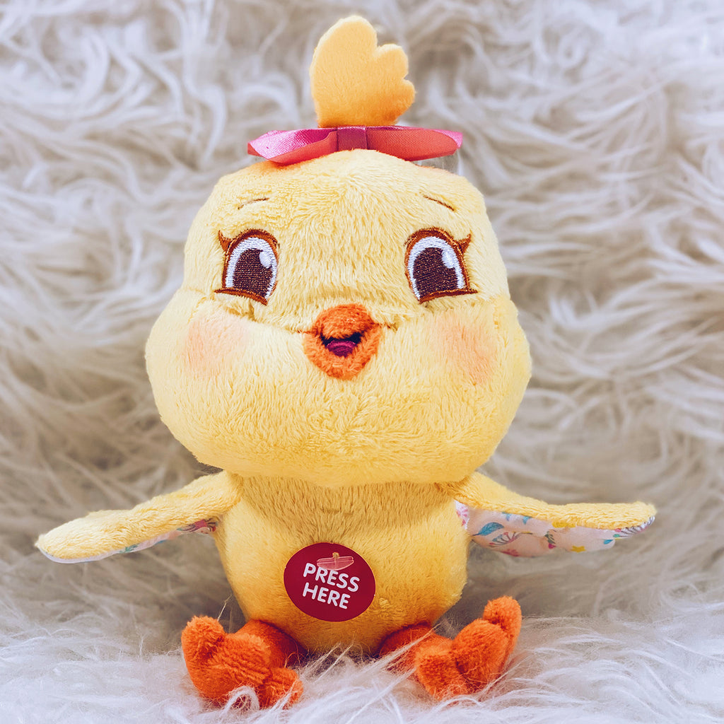 Kiki Chickie Plush with Sound