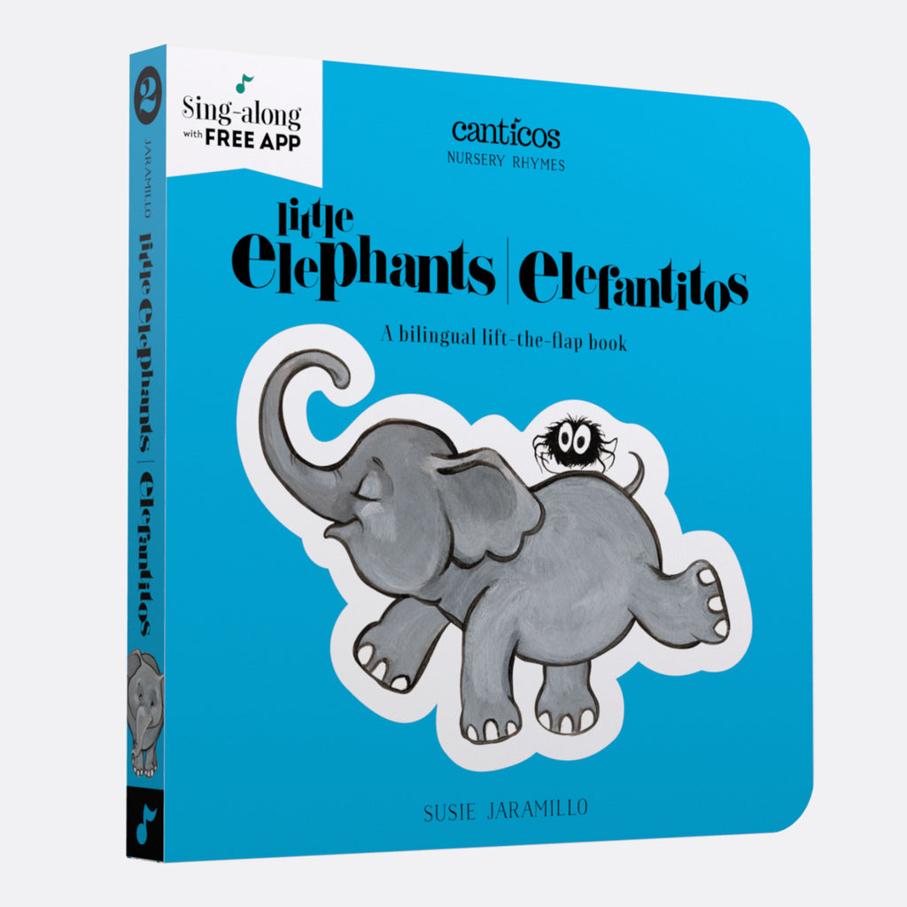 Canticos Little Elephants / Elefantitos: Board book in Spanish & English