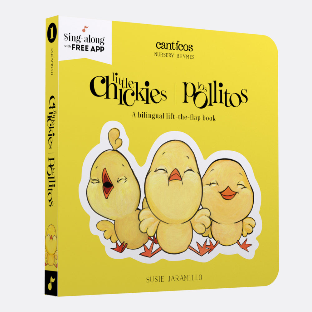 Canticos  Little Chickies / Los Pollitos: Board book in Spanish & English