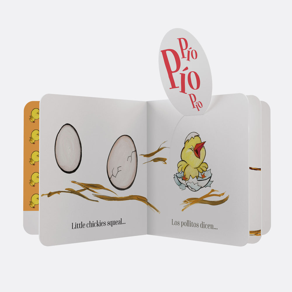 Canticos Little Chickies / Los Pollitos Lift The Flap Bilingual Board Book
