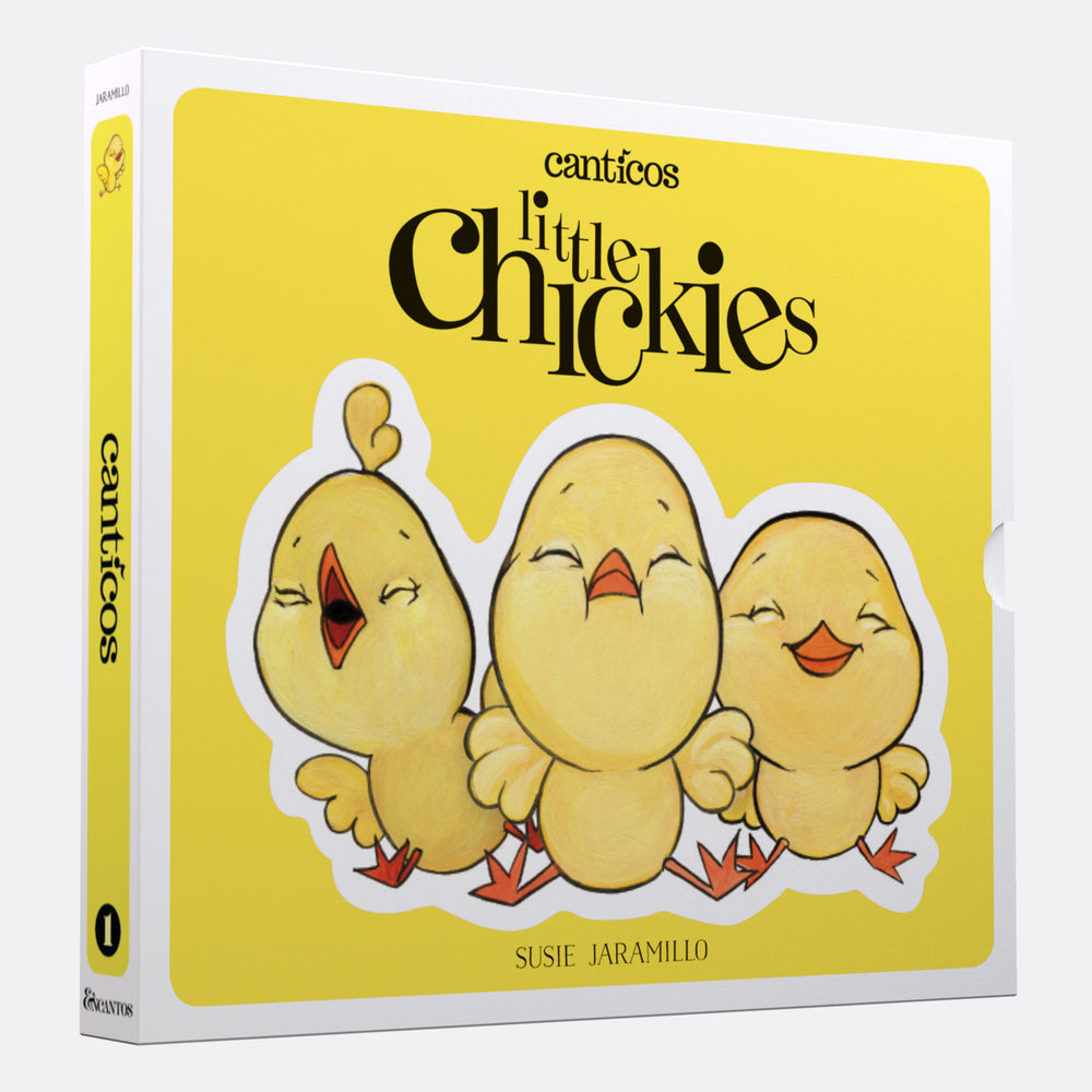 Interactive Books: Canticos  Little Chickies / Los Pollitos: Board book in Spanish & English