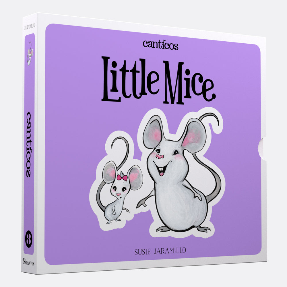 Interactive Books: Little Mice / Ratoncitos:: Board book in Spanish & English