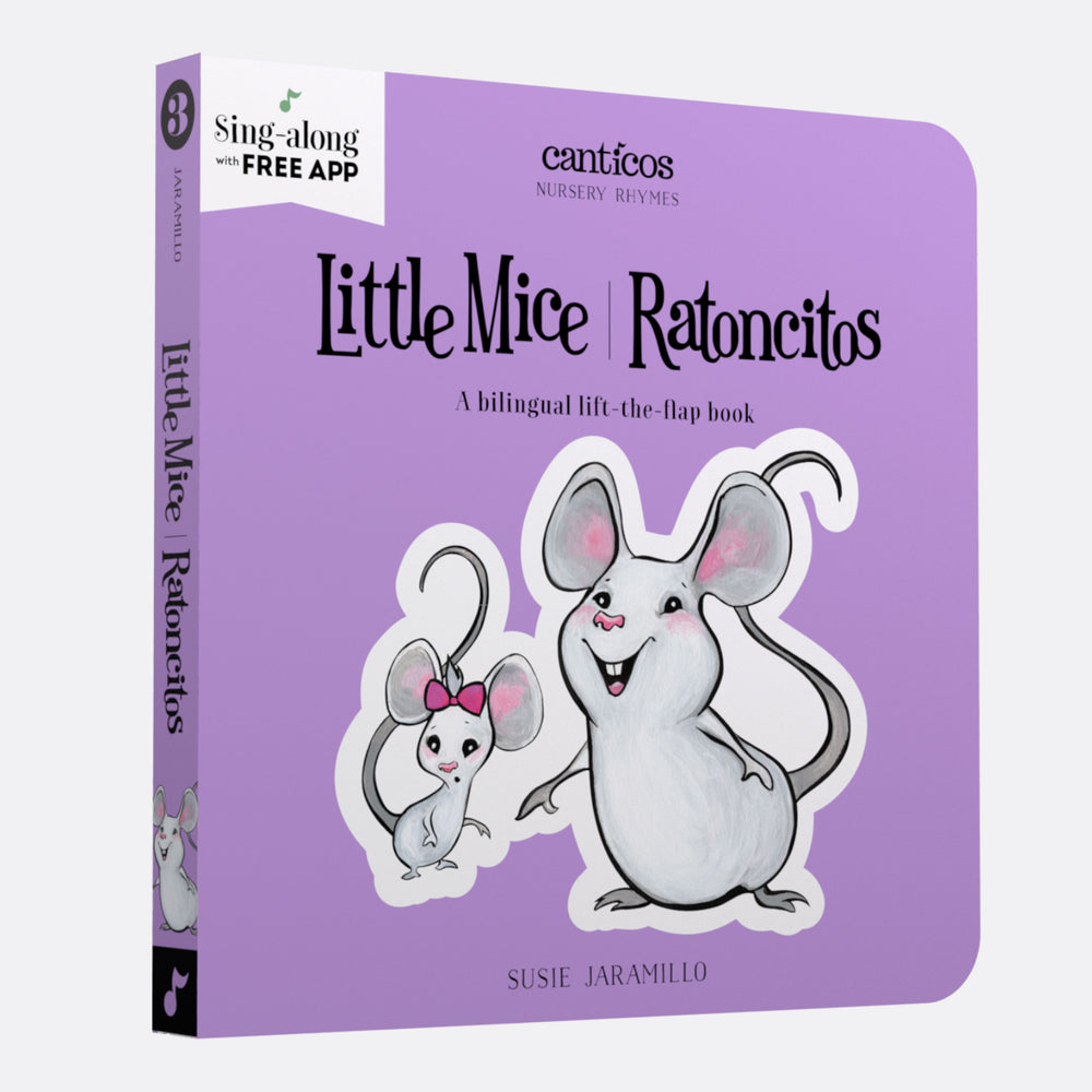 Canticos Little Mice / Ratoncitos: Board book in Spanish & English
