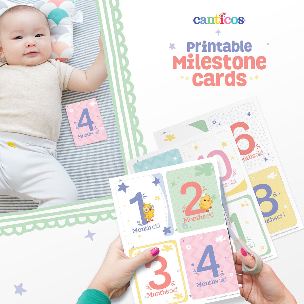 Baby Printable Milestone Cards