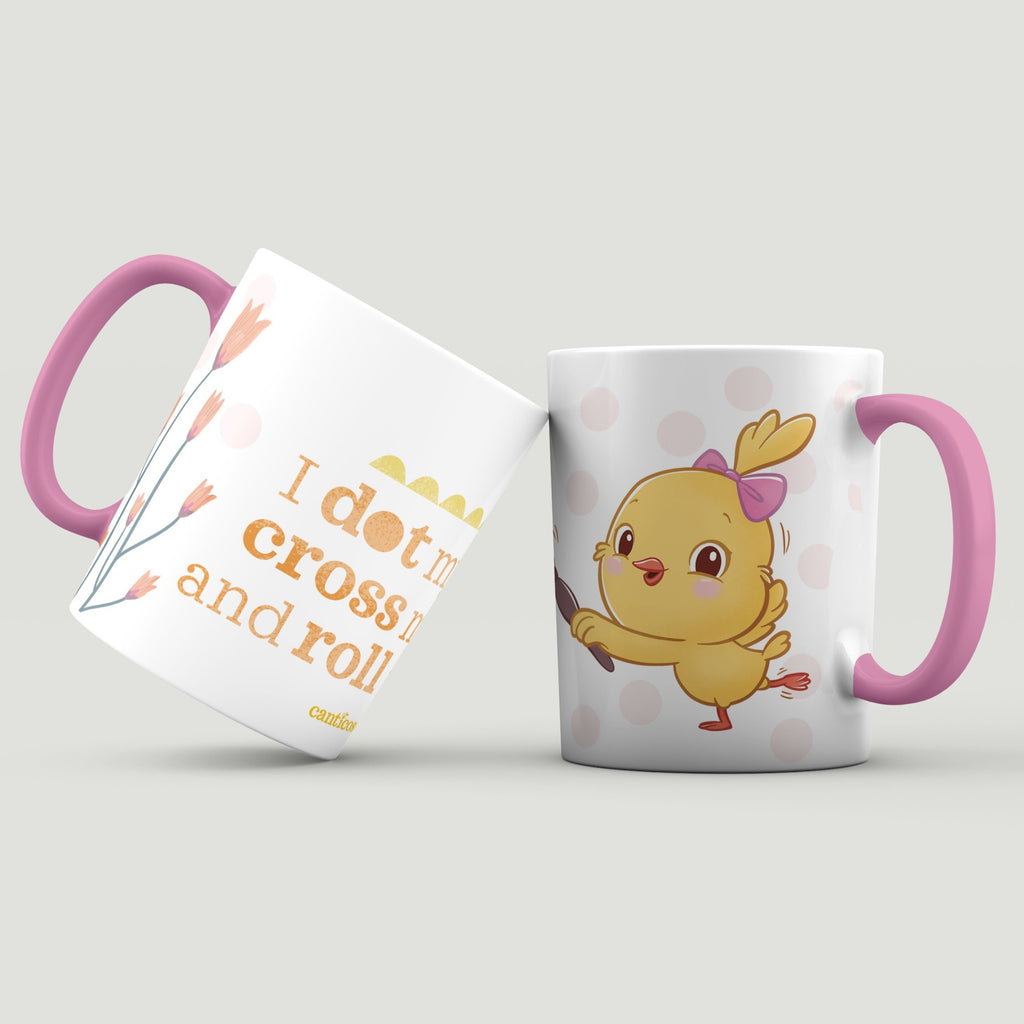 """I dot my i's, cross my t's and roll my r's"" Kiki Mug"