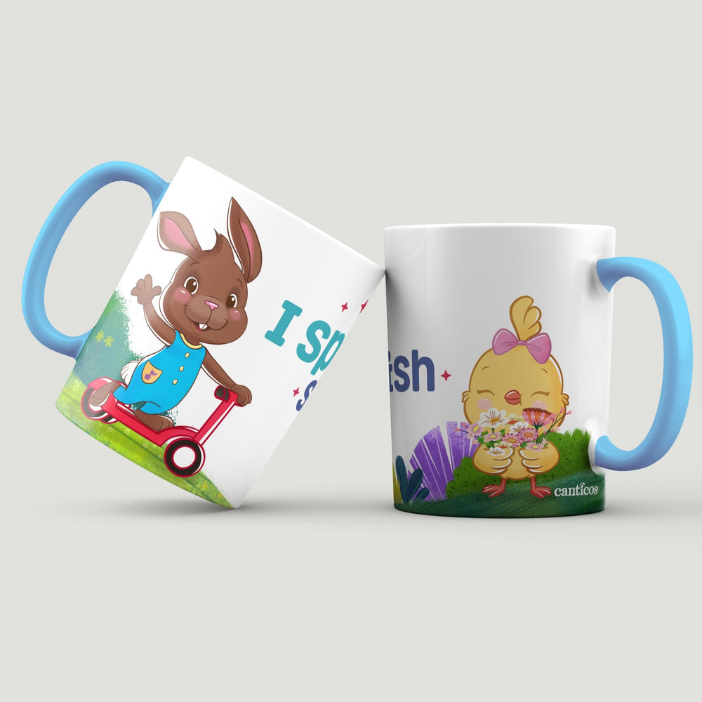 """I speak spanglish"" Sammy & Kiki Mug"