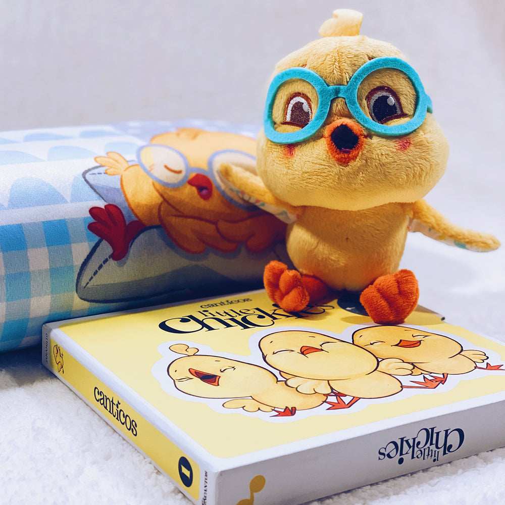 Nicky Chickie Bundle Set: Plush & Reversible Book
