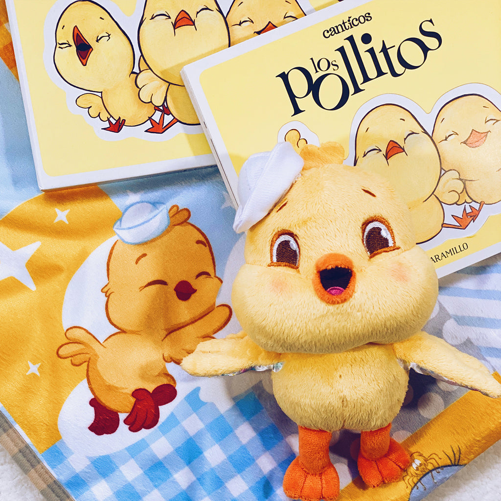 Ricky Chickie Bundle Set: Plush & Reversible Book