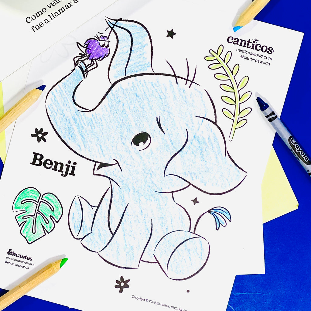 Printable Benji Coloring Sheets