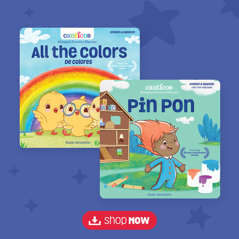 Digital Book Bundle: All the Colors/De colores & Pin Pon