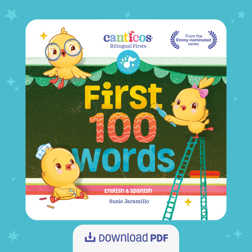 First 100 Words - Bilingual (English & Spanish) PDF Download Digital Book