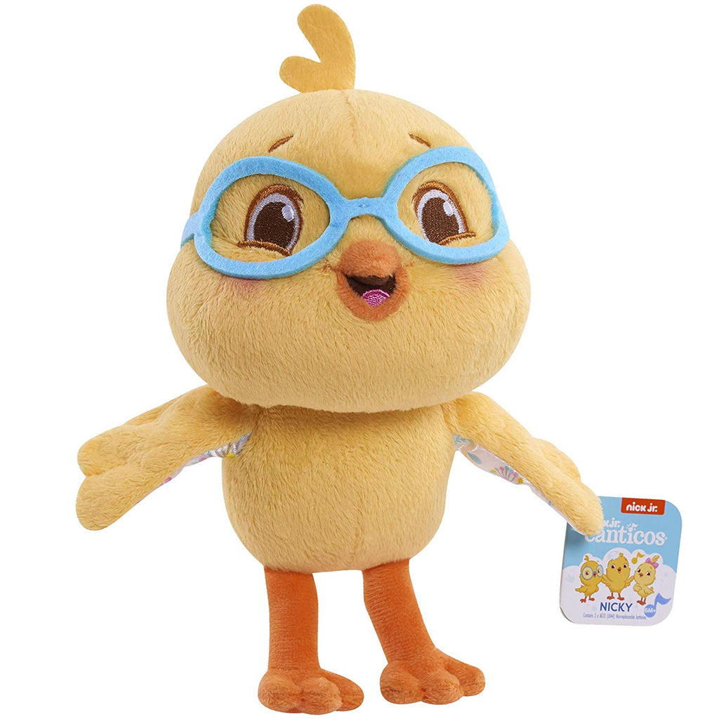 Nicky Chickie Plush with Sound