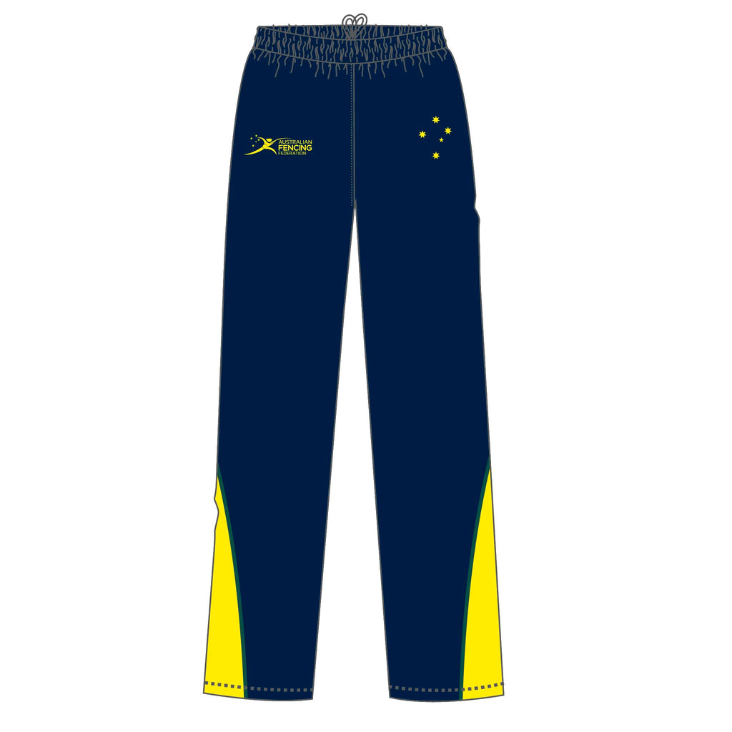 Men's AFF Navy Tracksuit Pants
