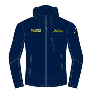 Women's AFF Softshell Navy Jacket