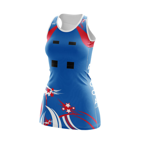 Women's AFNC Netball A Line Dress + 5cm