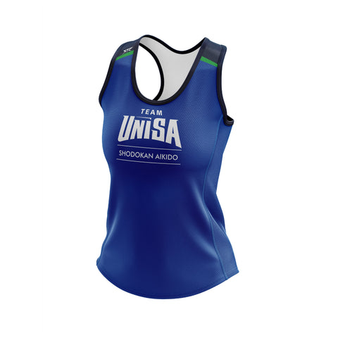 Women's UniSA Shodokan Aikido Club Performance Training Singlet