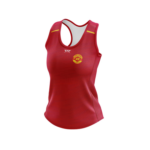 Womens Croydon Athletics Training Singlet