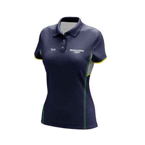 Women's HAS Core Navy Polo