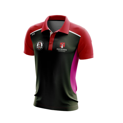 MQU AFL Mens Polo