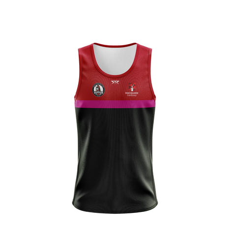 MQU AFL Mens Training Singlet