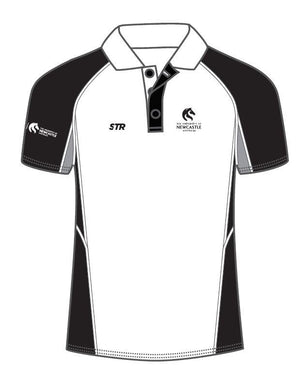 Newcastle University White Mens Polo