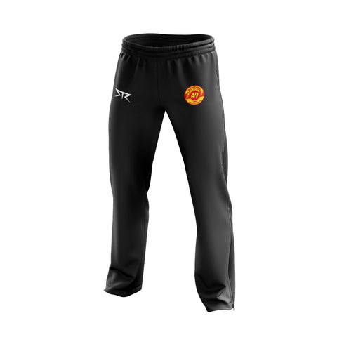 Mens Croydon Athletics Straight Tracksuit Pant