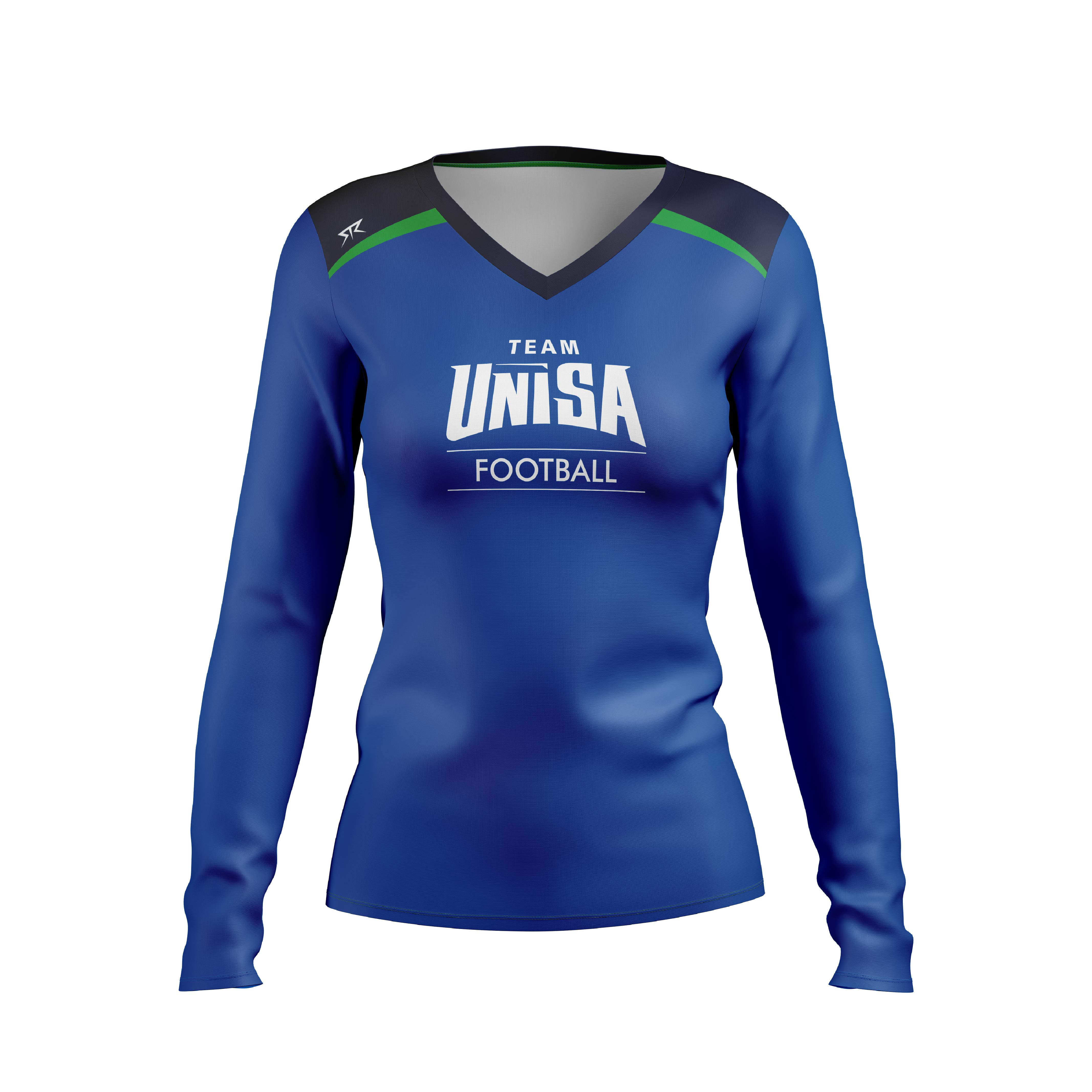 UniSA Women's Football Club Performance Long Sleeve Training Tee