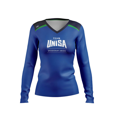 Women's UniSA Shodokan Aikido Performance Long Sleeve Training Tee