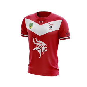 Men's TVTC Red Playing Jersey