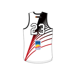 WCWD Basketball Reversible Jersey +5cm