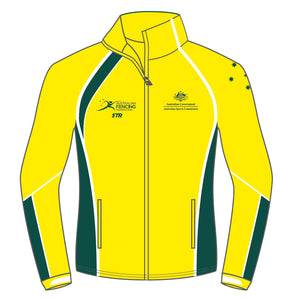 Women's AFF Yellow and Green Jacket