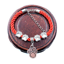 Load image into Gallery viewer, Fashion Hand-Woven Dog Paw Rope Bracelet
