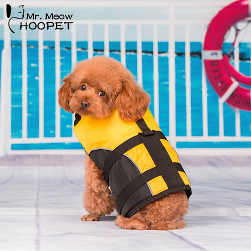 Hoopet Dog LifeJacket Surfing Swimming Vest