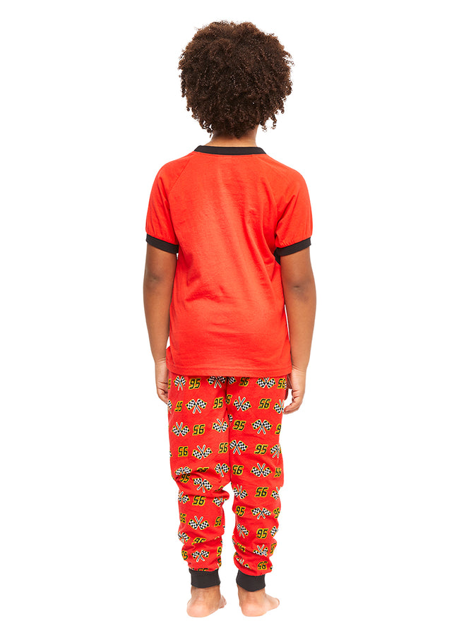 Cars 3 Boys Pajamas Red Cotton 2-Piece PJ Set