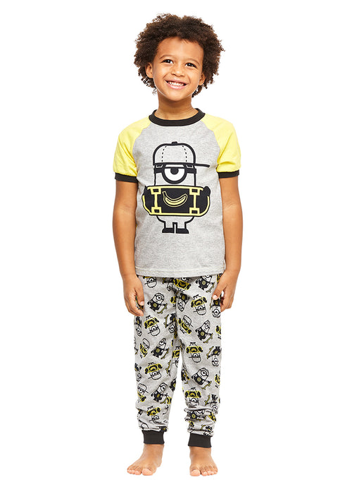 Minion PJs Boys Cotton 2-Piece Pajama Set