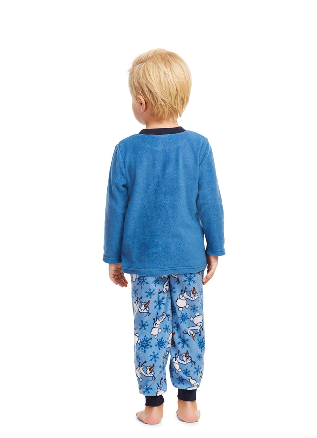 Disney Frozen 2 Boys Sleepwear | Fleece Kids 2-Piece Pajama Set