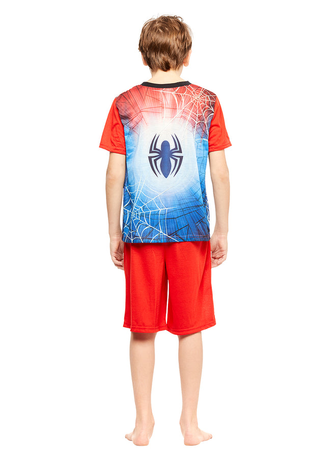 Spider-Man Boys 2-Piece Pajamas With Short Sleeve Shirt