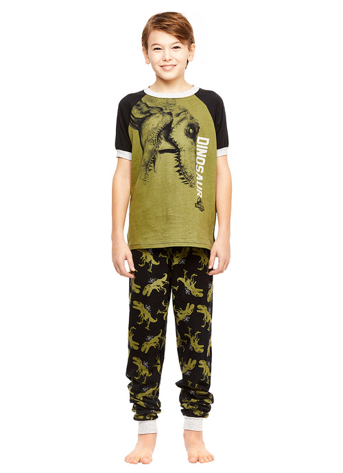 Jurassic World Boys Cotton 2-Piece Pajama Set