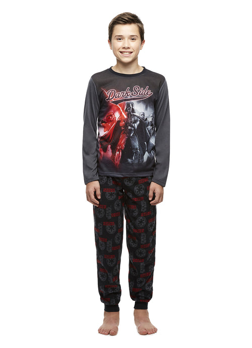 Star Wars Dark Side Boys Fleece 2-Piece Pajama Set